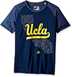 NCAA UCLA Bruins Adult Men Geometric Flow Climalite Ultimate S/Tee,Large,Navy