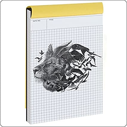 amazon com graph paper notebook quad ruled writing pad legal