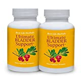 Ultimate Bladder Support - Dietary Supplement - 2 Bottle Supply - Restore Your Freedom and Confidence for Good