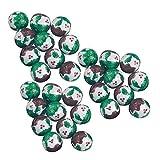 30 x Milk Chocolate Foiled Christmas Pudding Balls 4g Each