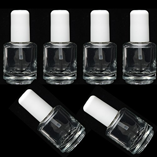 pro-nail-clear-empty-polish-bottles-brush-mixing-ball-14ml-05-oz-6-bottles