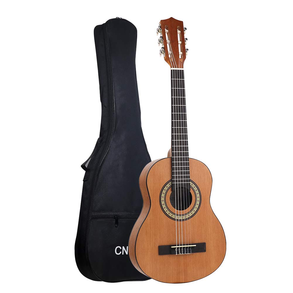 Classical Acoustic Guitar Kid 30 inch 1/4 Size Child Beginner Rosewood Guitar Nylon Strings