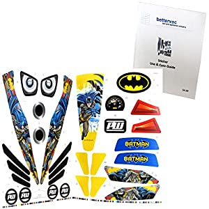 Power Wheels DMT54 Batman Decal Sheet #3900-4191 Bundled With Use & Care Guide