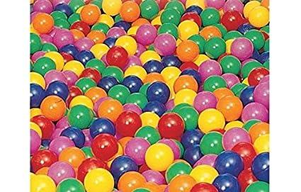 Amaya - pelota piscina 75mm 600udes -: Amazon.es: Juguetes y juegos