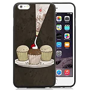 New Personalized Custom Designed For iPhone 6 Plus 5.5 Inch Phone Case For Cupcakes Illustration Phone Case Cover