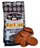 Sante Fe Farms Fat Free Chocolate Chocolate Chip Cookies, 7 oz bags