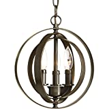Progress Lighting P5142-20 Three Light Sphere Pendant