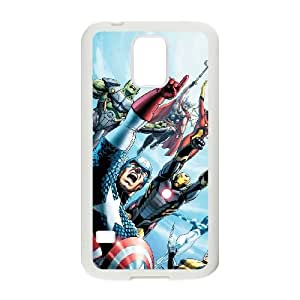 Samsung Galaxy S5 Cell Phone Case White Marvel comic Phone Case Active Plastic FOX