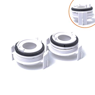 2Pcs H7 LED Bulb Socket Adapter Booth Headlights Retainer Base Holder 12V/35W White Xenon Fit For BMW 3 Series 98-04 318i/E65/E90(Pack Of 2): Automotive