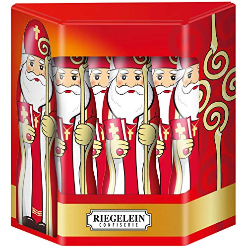 Riegelein Solid St. Nicholas in Gift Box - 10 Pieces