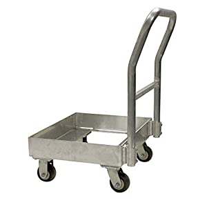 Prairie View Ind. Food Service CHILL1-HAND Single Chill Tray Dolly, 22.75
