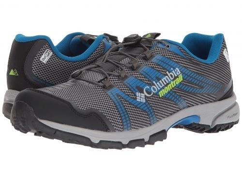 Columbia(コロンビア) メンズ 男性用 シューズ 靴 スニーカー 運動靴 Mountain Masochist IV Outdry - Ti Grey Steel/Bright Green [並行輸入品] B07BLM4TZD