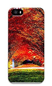 Case For Ipod Touch 4 Cover Autumn maple forest 3D Custom Case For Ipod Touch 4 Cover