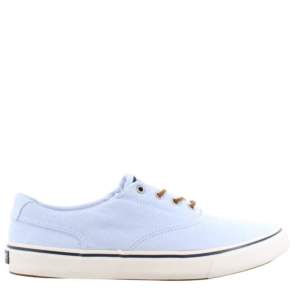 Sperry Top-Sider Striper II CVO Oxford Shirt Sneaker Men 12 Light Blue