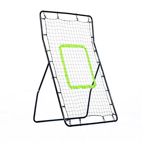 HOMCOM Rebounder Net Playback Soccer Football Game Spot Target Ball...