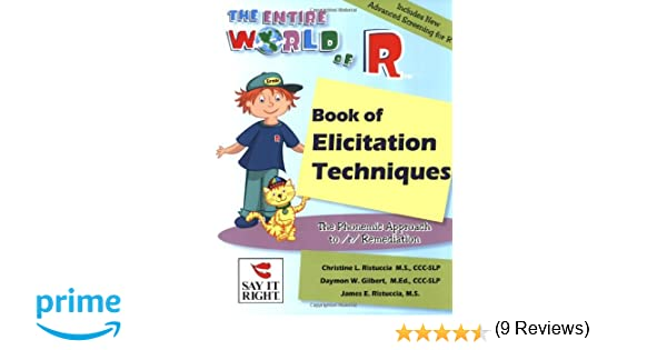 The Entire World of R Book of Elicitation Techniques: Daymon ...
