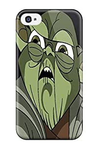 Awesome Star Wars Tv Show Entertainment Flip Case With Fashion Design For Iphone 4/4s