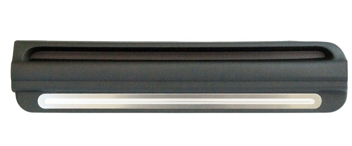 Sky Solstice Brushed Aluminum Plain LH Door Sill Scuff Plate Driver Side