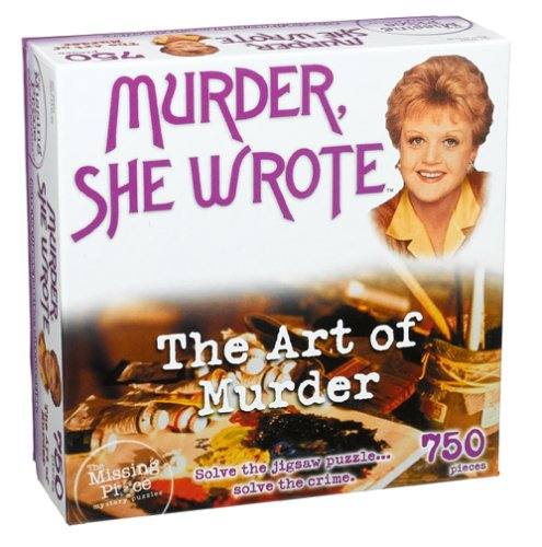 Missing Piece Mystery Puzzle - Murder She Wrote - The Art of Murder ()