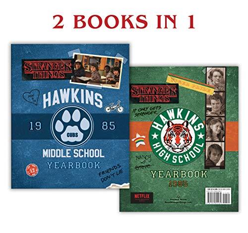 Hawkins Middle School Yearbook/Hawkins High School Yearbook (Stranger Things) - High School Yearbook Game