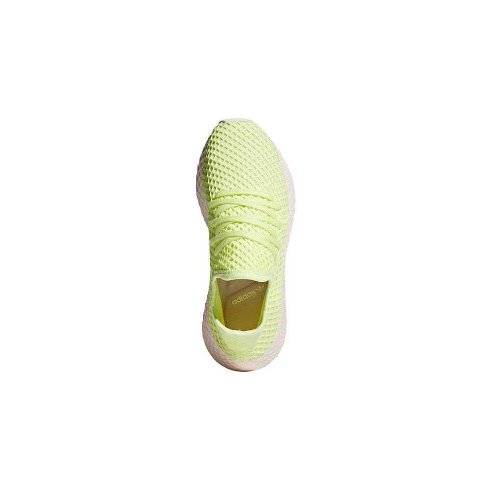 quality design a7c27 809ee Amazon.com adidas Deerupt (GlowGlowClear Lilac) Womens Shoes B37599  Sports  Outdoors