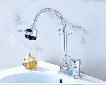Lavabo del baño Grifos de ducha Tapshot y columna de frío Manija ...