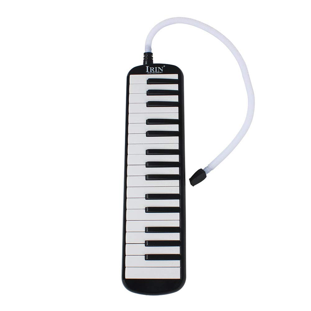 EDTara 32 Key Melodica Musical Education Instrument with Deluxe Carrying Case Organ Accordion Mouth Piece Blow Key Board Instrument by EDTara