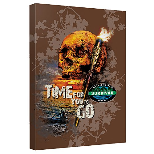 Time to Go–- Survivor–- STRETCHED CANVAS FRAMED artwrap 20x30 Inches TR-CBS1484-ADV2-20x30の商品画像