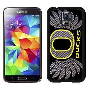 Durable Galaxy S5 Case,DIY I9600 Case Design with Oregon Ducks Samsung Galaxy S5 SV I9600 Phone Case in Black