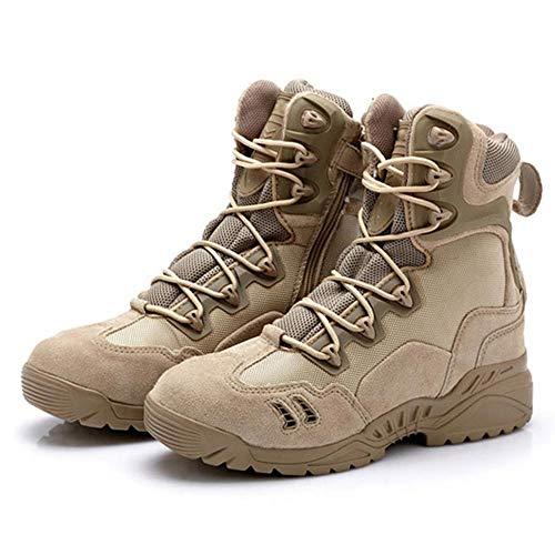 Uomo Da Tactical Da Patrol Combattimento Camping High Khaki Hiking top Stivali Tan Desert LDZY Desert Boots Atletico Jungle Boots qtExvXwq