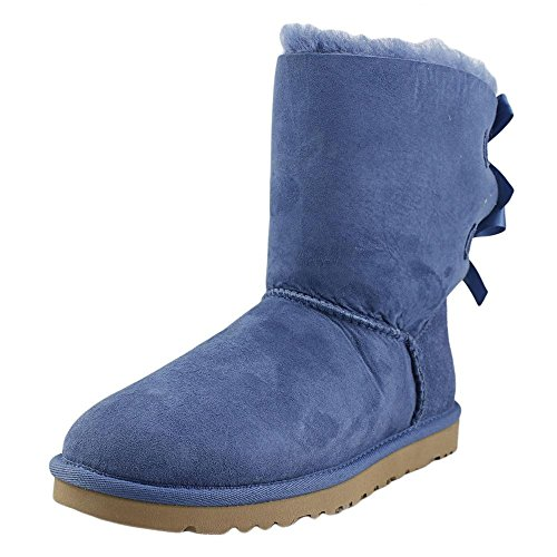 Blue Bailey Bow Ugg Boots - UGG Women's Bailey Bow, Blue Jay