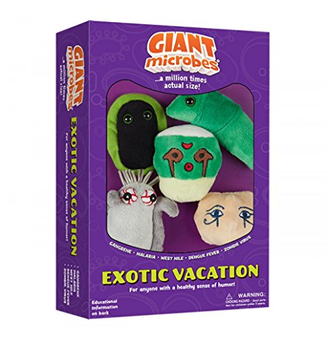 Giant Microbes Plush - GIANT MICROBES Giantmicrobes Themed Gift Boxes - Exotic Vacation