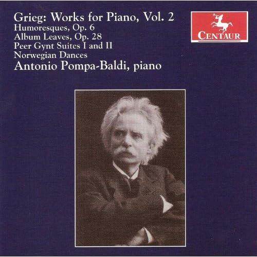 Grieg, E.: Piano Music, Vol. 2