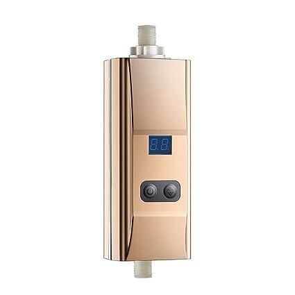 H&RB Baño De Ducha Grifo Calentador De Agua Instant Calentador Eléctrico De Agua Entrada Calentador De