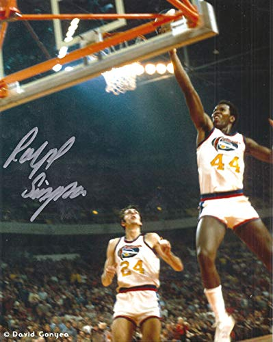 Ralph Simpson Autographed Signed Denver Nuggets ABA 8x10 Photo Layup - Certified Authentic ()