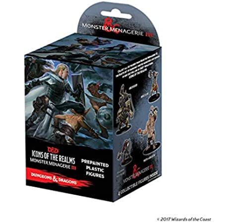 WizKids Dungeons & Dragons: Icons of The Realms: Monster Menagerie 3 Booster Pack: Amazon.es: Juguetes y juegos