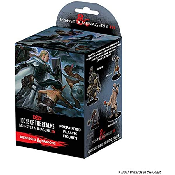 WizKids Dungeons & Dragons: Icons of The Realms: Monster Menagerie ...