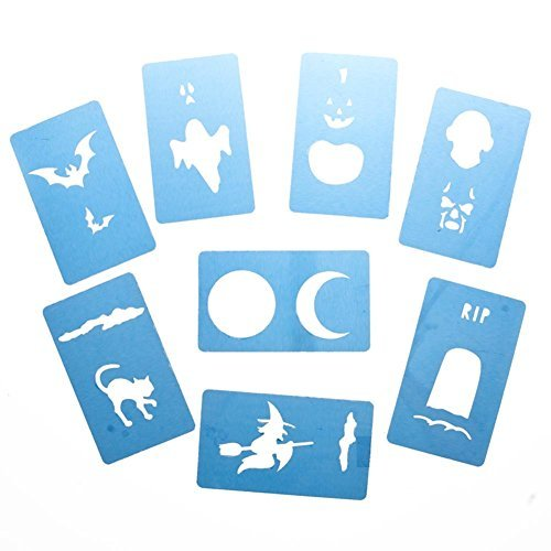 Disguise Stix Halloween Face Painting Stencil Set]()