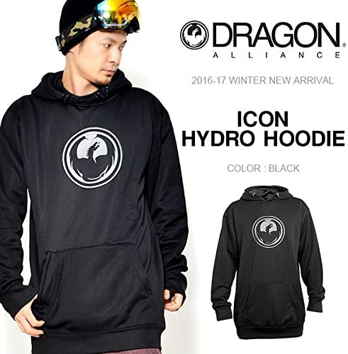 NEW 2017 Dragon Icon Hydro Pullover Snowboard Hoodie