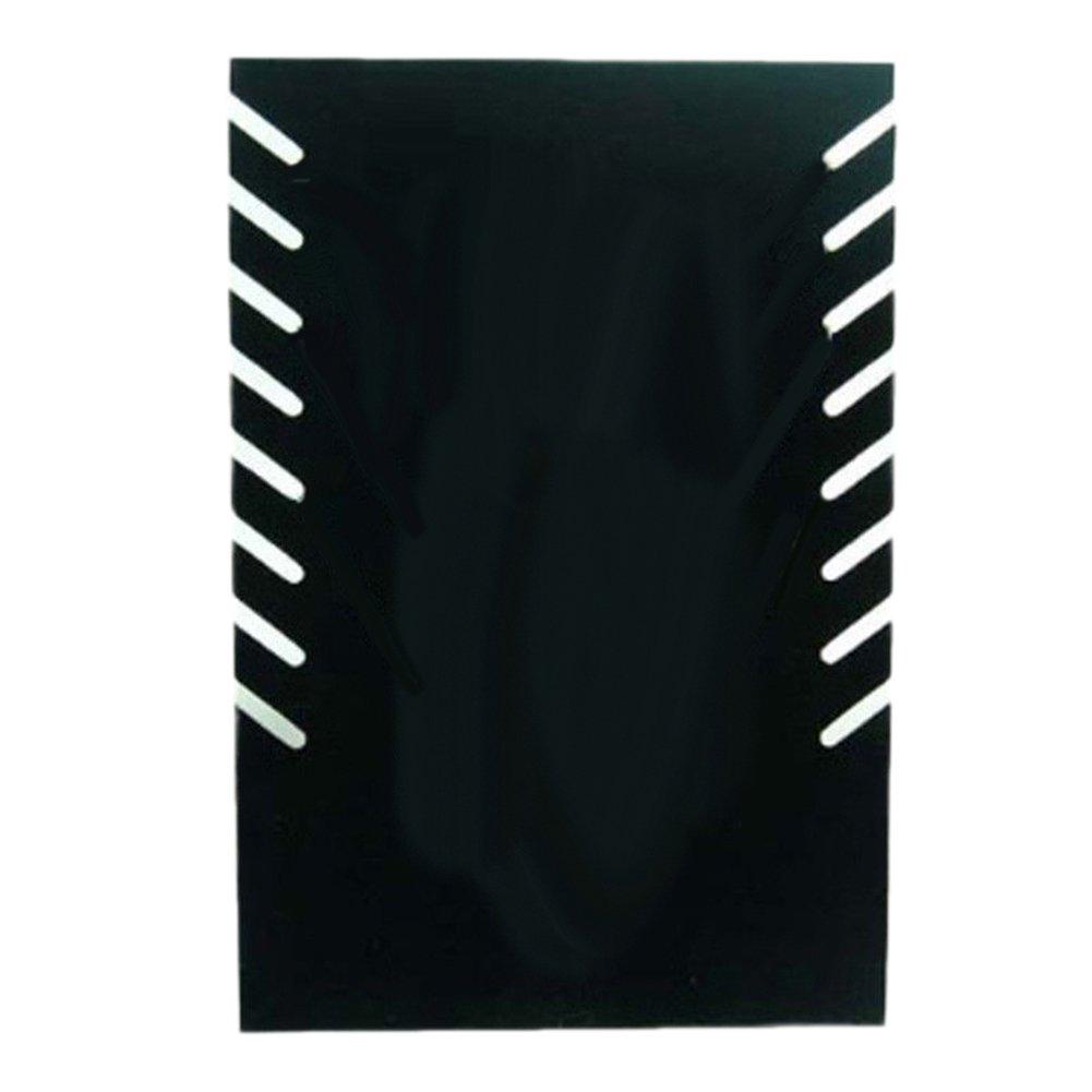 Momangel Personalidad Creativa Placa De Collar De 8 bits Estante De Collar Soporte De Exhibici/óN De Collar Soporte De Collar Soporte De Exhibici/óN De Collar Black