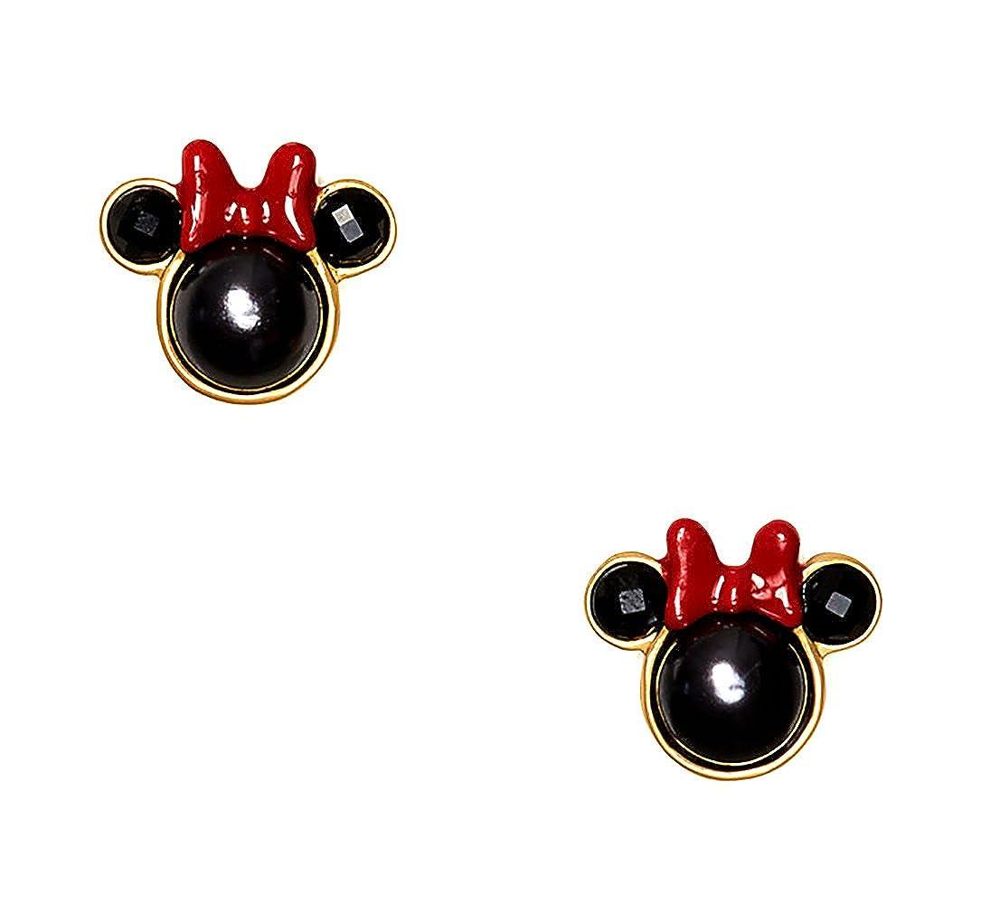 Amazon.com: Kate Spade New York Earrings Bow Stud (Minnie Mouse Bow ...