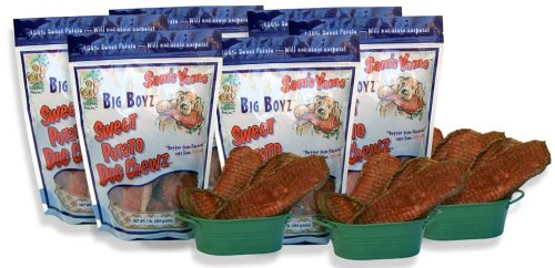 Sweet Potato Dog Chewz – 6 Pack – Value Pack Big Boyz, My Pet Supplies
