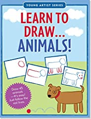 Draw 45 of your favorite animals!Simple step-by-step instructions -- just follow the red lines!Draw horses, lions, bears, penguins, monkeys -- a whole zoo!Trace over extra animal outlines to build confidence.Room to practice on opposing pages...