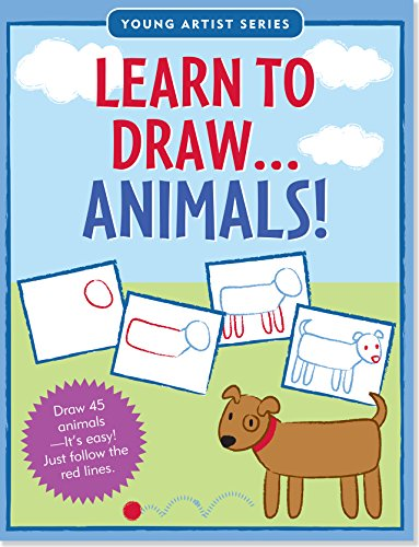 Learn To Draw Animals! (Easy Step-by-Step Drawing Guide) (Young Artist) ()