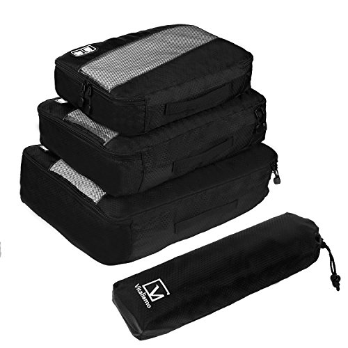 3 Set Packing Bags, Travel Luggage Packing Organizers Compre...