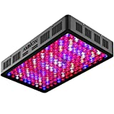 AMMON LED Grow Light 1500W Reflector-Series Veg/Bloom Intelligent Switching Full Spectrum Indoor Plant Grow Lights Kit for Greenhouse and Medicinal Plants Growth Indoor Veg and Flower Growing