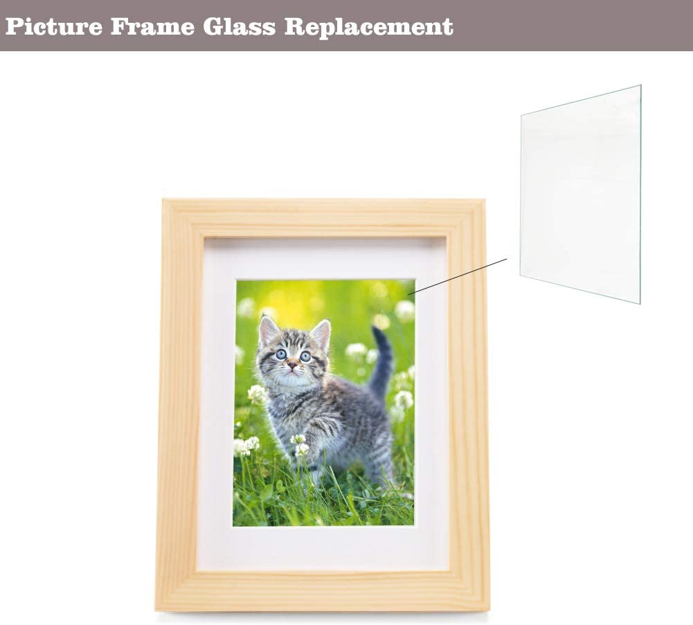 Acrylic Sheets Clear Plexiglass for Photo Frame Glass Replacement 1.1mm Thick Projects Display Painting 8 inch x 10 inch Langaelex 10 Pieces 8/'/' x 10/'/' x 0.043/'/'