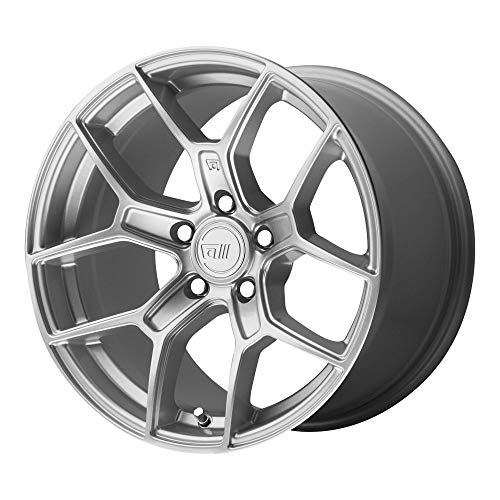 MOTEGI MR133 HYPER SILVER MR133 17x8.5 5x114.30 HYPER SILVER (35 mm) RIMS ()