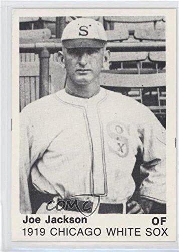 Amazoncom Joe Jackson Baseball Card 1975 Tcma 1919
