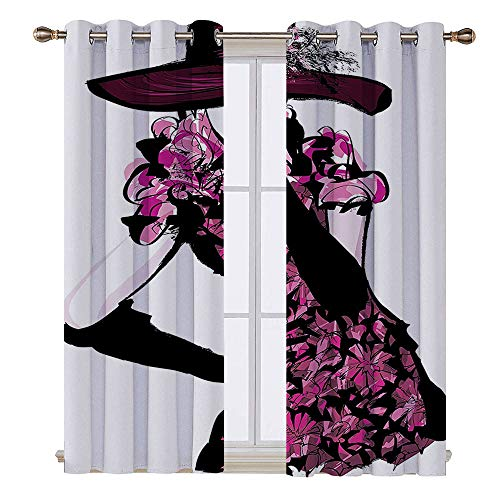 Used, SATVSHOP 100% Blackout Window Curtain Panels - 120W for sale  Delivered anywhere in Canada